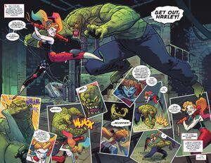Harley Quinn and Killer Croc Prime Earth 0001