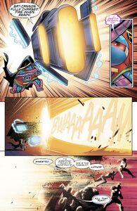 Jarro blasting at Legion of Doom
