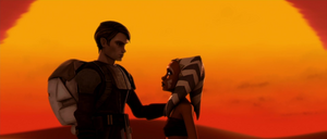 Anakin Skywalker Ahsoka suns