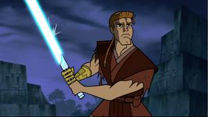 Anakin Skywalker rain