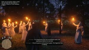 Red Dead Redemption 2 - Meeting KKK & They Accidentally Burn Themselves (RDR2 2018) PS4 Pro