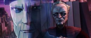 Chancellor Palpatine Kenobi hologram