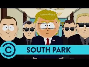 New President - South Park - Comedy Central UK