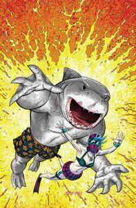 Suicide Squad King Shark Vol 1 1 Textless Variant Scott Kolins