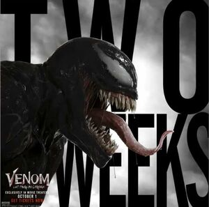 Venom Let There Be Carnage Two Weeks Until Premiere Promotional Image