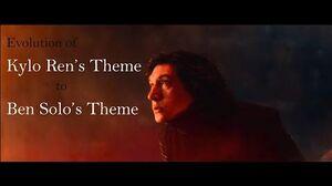 Evolution of Kylo Ren's Theme to Ben Solo's Theme (Episodes VII-IX)