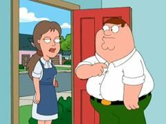 Joan meets Peter Griffin