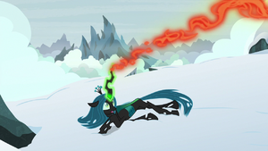 Queen Chrysalis' magic returning to her S9E8