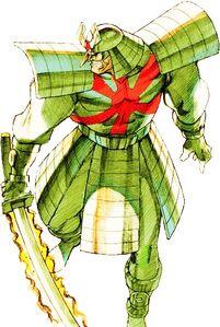 Silver Samurai (Marvel vs. Capcom 2)
