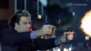 Swordfish - Car Action Scene - Hugh Jackman, John Travolta
