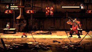 Inferno Battle Shank