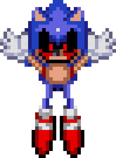 Sonic Exe Sprite Animation Villains Fanon Wiki Fandom