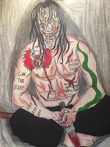 Jeff the killer a psycho with tattoos by joshrambo123 dbgwmoa-pre