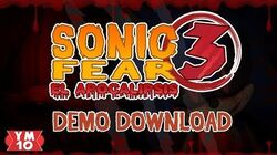 SONIC FEAR 3 THE APOCALYPSE (DEMO DOWNLOAD)