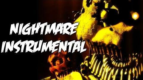 """Nightmare"" - FNaF Song OFFICIAL INSTRUMENTAL KARAOKE VERSION (NateWantsToBattle)"
