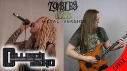 Plants vs Zombies - Zombies on your lawn Metal Cover by Collision Zero