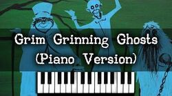 Grim Grinning Ghosts Piano Version (Disney Haunted Mansion Song)