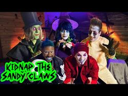 KIDNAP THE SANDY CLAWS - The Nightmare Before Christmas - VoicePlay Feat