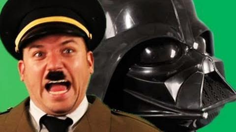 Darth Vader vs Adolf Hitler