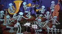 Skeleton Dance Color Version