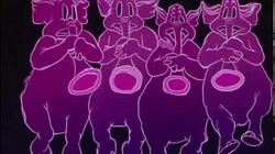Dumbo Pink Elephants on Parade HD
