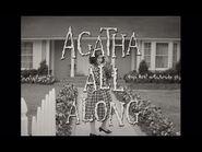 """Agatha All Along"""