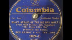 """Who's Afraid of the Big Bad Wolf?"" Ben Bernie & All The Lads (1933)"