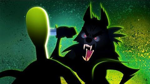 Slender Man vs. Insanity Wolf