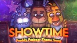 "FNAF Song ""Showtime"" FIVE NIGHTS AT FREDDY'S VR HELP WANTED"