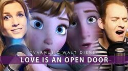 'Love Is An Open Door' - Frozen Onnedi & Yvar COVER