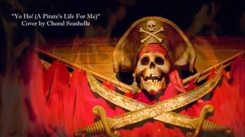"""(NEW COVER) Pirates of the Caribbean """"Yo Ho! (A Pirate's Life For Me)""""- Choral Seashelle"""