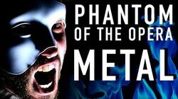 Phantom of the Opera (METAL VERSION) ~ Jonathan Young cover ft