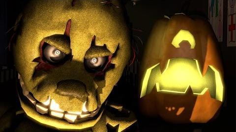 Halloween at Freddy's