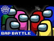 An Among Us Rap Battle - Video Game Rap Battle -Among Us Song-