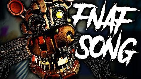 """""""Nothing Remains"""" - FNaF 6 Song by Andrew Stein FNAF LYRIC VIDEO"""