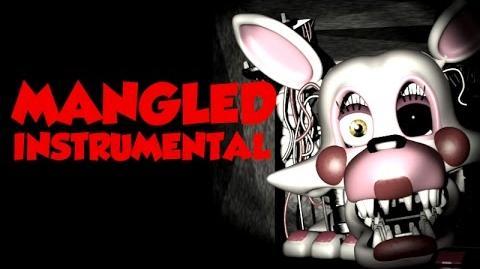 """""""Mangled"""" - FNaF Song OFFICIAL INSTRUMENTAL KARAOKE VERSION (NateWantsToBattle)"""
