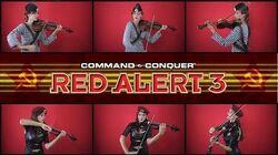 C&C Red Alert 3 Theme - Soviet March (Anastasia Soina violin)