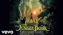 """Christopher Walken - I Wan'na Be Like You (2016) (From """"The Jungle Book"""" (Audio Only))"""