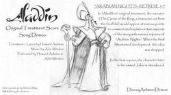 Arabian Nights - Reprise 1 - Howard Ashman Demo