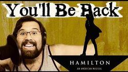 You'll Be back - Caleb Hyles (from Hamilton)