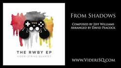 RWBY ~ From Shadows (string quartet)