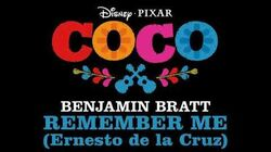 Remember Me - Benjamin Bratt (Ernesto de la Cruz) COCO soundtrack