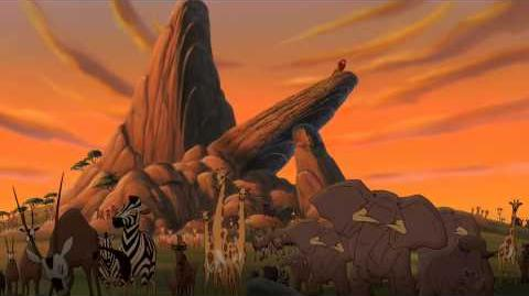 1080p - The Lion King II Music - (He Is) Not One Of Us! - HD