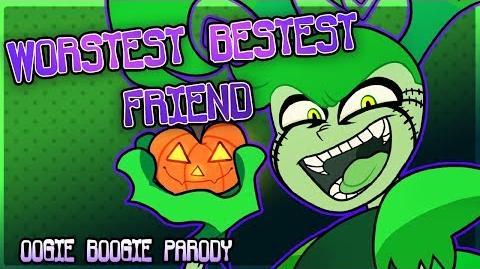 """""""Worstest Bestest Friend"""" - Spinel (Oogie Boogie Song Parody)"""
