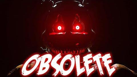 """""""Obsolete"""" - FNaF Help Wanted Song by NateWantsToBattle FNAF ANIMATED LYRIC VIDEO"""