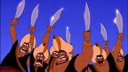 You idiots we're all got swords
