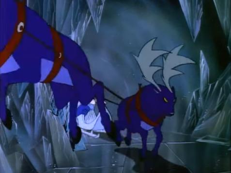 The Snow Queen's Reindeers