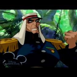 Lt. Colonel Staquait