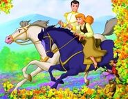 Cinderella-and-Prince-Charming's Horses