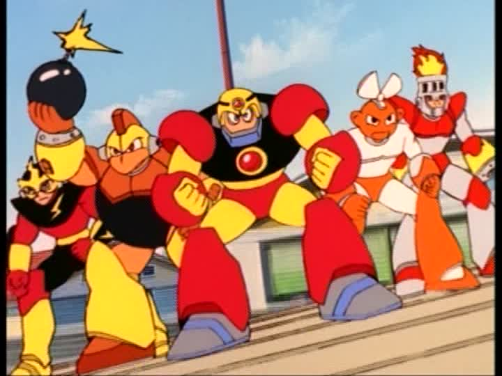 Wily's Robot Masters